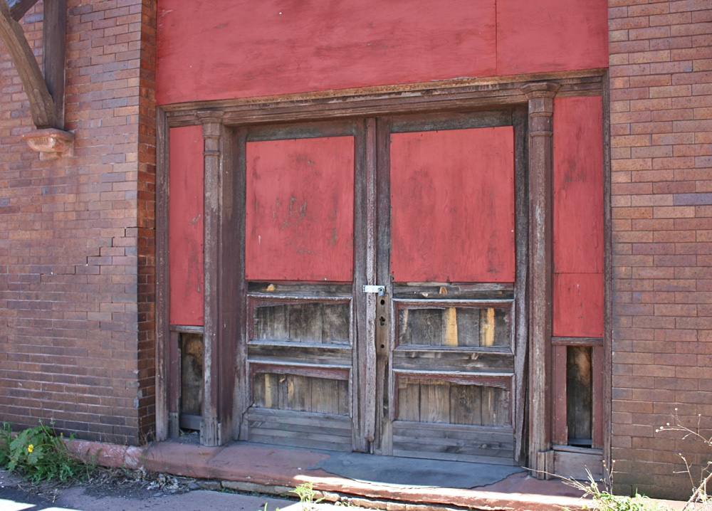 Waiting Room Entrance at the Calumet Depot
