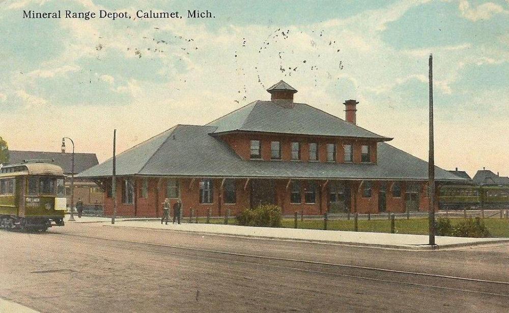 Mineral Range Depot, Calumet
