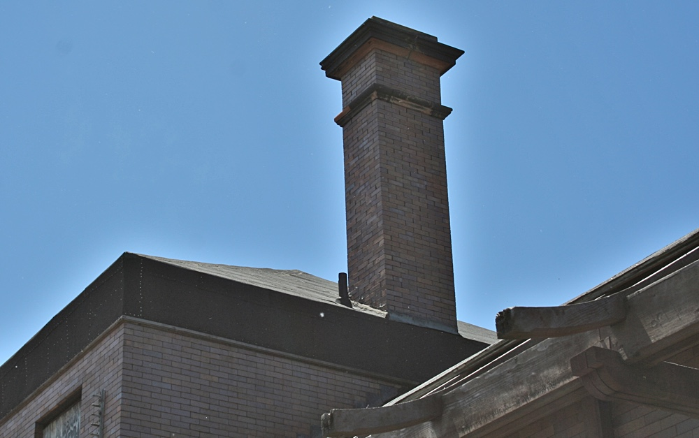 The Smokestack at the Calumet Depot