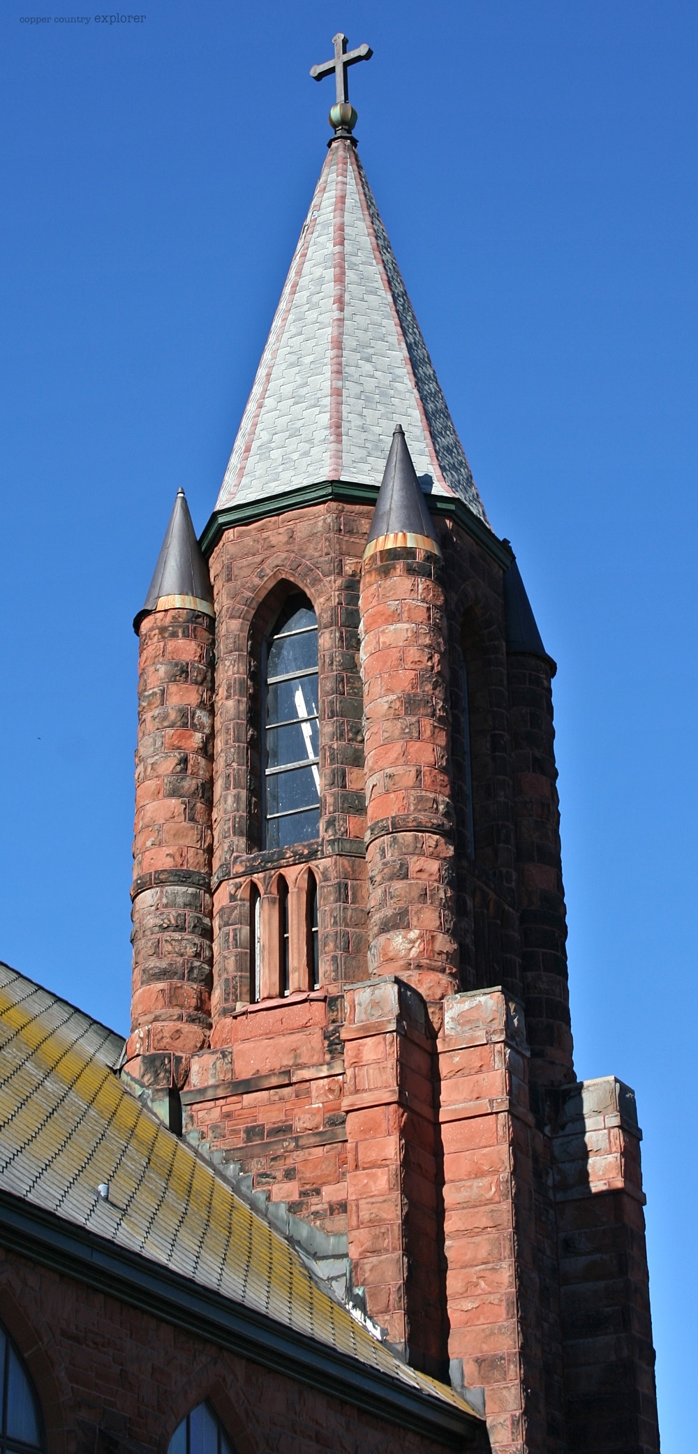 The Tower of St. Anne's Church, Calumet