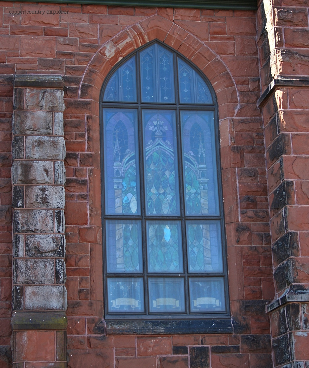 Nave Windows of St. Anne's Church Calumet