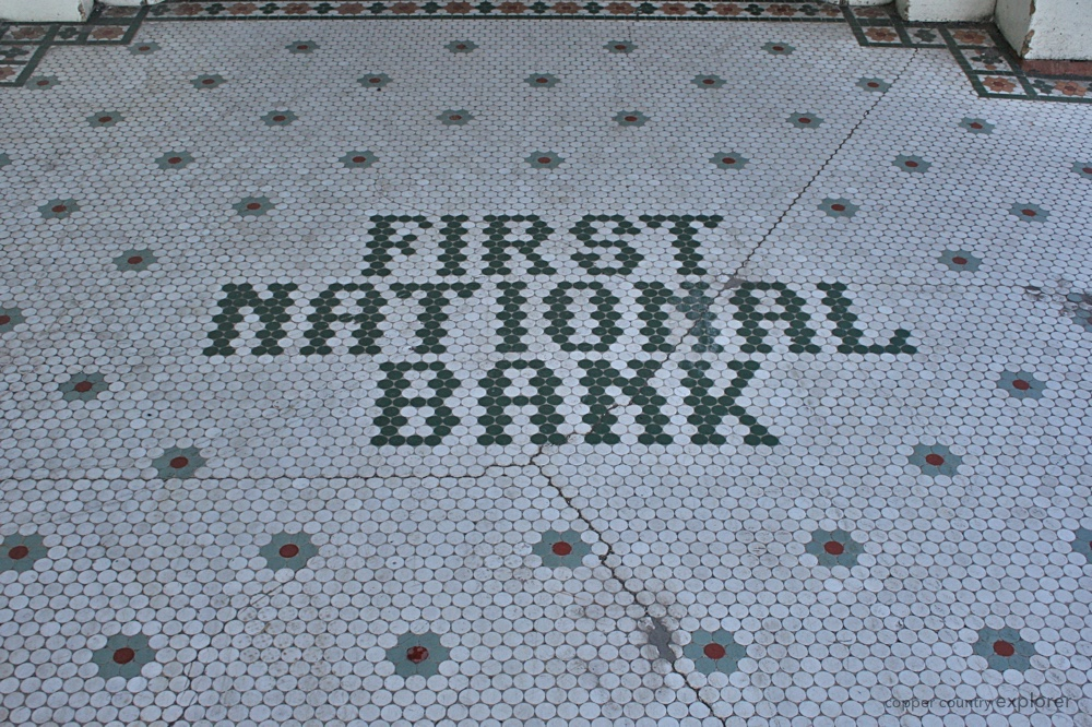 The Tile Mosaic at the First National Bank Building in Laurium