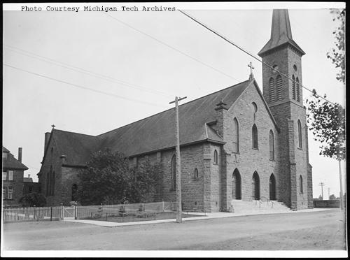 Sacred Heart Church - Calumet