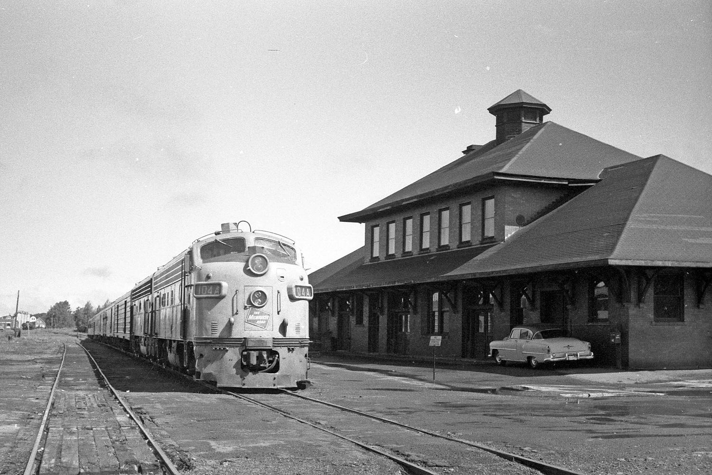 Mineral Range Depot, Calumet, ca 1960s
