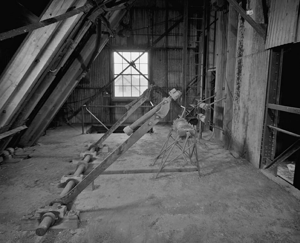 The Cable Anchor Floor of the Quincy. No.2 Shaft / Rockhouse