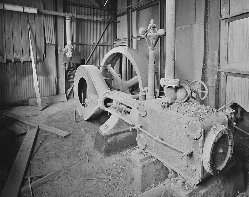 The Quincy No.2 Rockhouse's Steam Engine