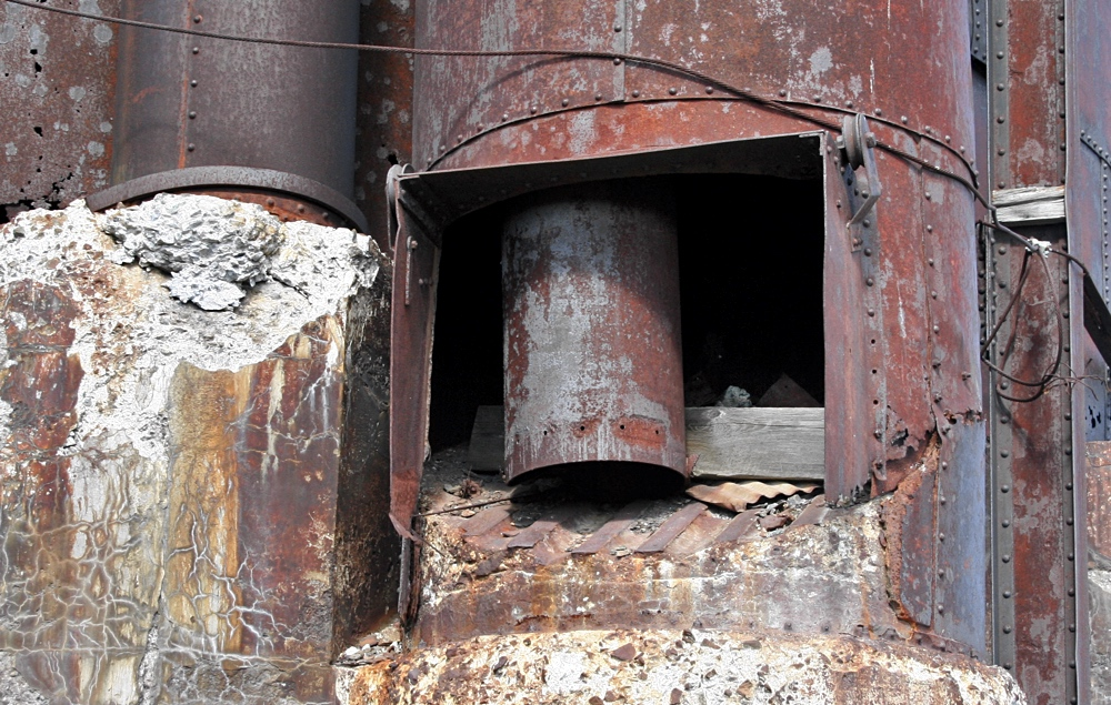 Mass Copper Silo of the Quincy No.2 Rockhouse