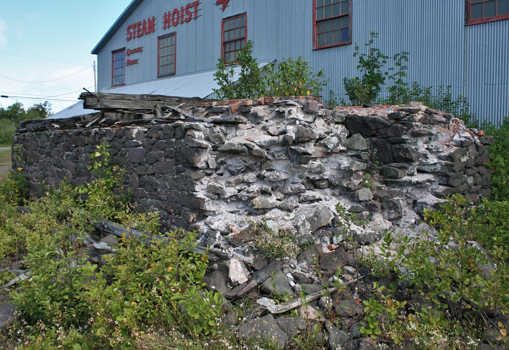 The Old Engine Foundation at the Quincy No.2 Shaft / Rockhouse